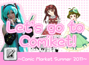 Misa Misa's Special Report - Let's Go to Comiket!