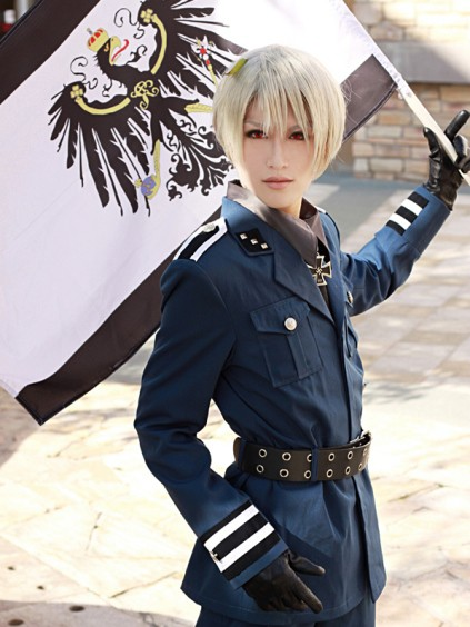 Prussia from Axis Powers Hetalia