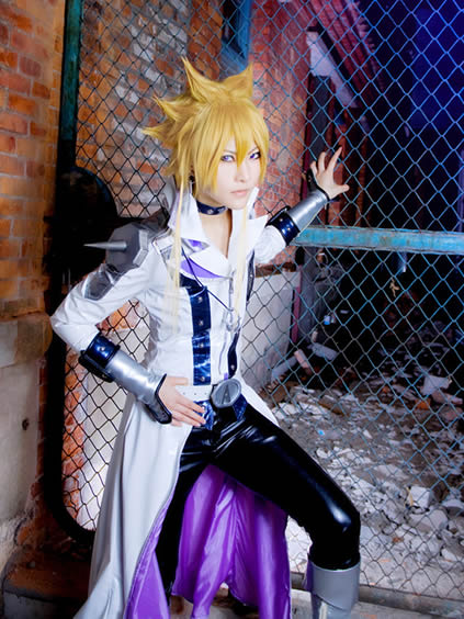 Jack Atlas Yu-Gi-Oh! Duel Monsters Longyi 竜一 cosplay photo