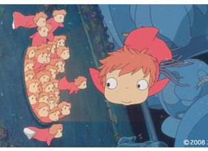 "Miyazaki Hayao makes ""Ponyo on the Cliff by the Sea"""
