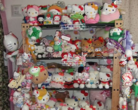 Otaku home room hello kitty