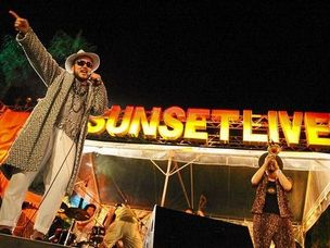 SUNSET LIVE 2012 REPORT [First day Part2]