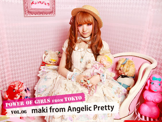 POWER OF GIRLS from TOKYO Vol.6 maki from Angelic Pretty