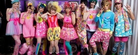 Roots of kawaii kyarypamyupamyu