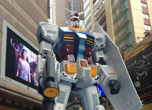 [Report from Robin in Hong Kong] Gundam Docks at Hong Kong