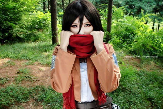 Mikasa Ackerman- Attack on Titan