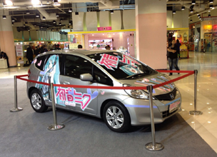 [Report from Kobori in Bangkok] Bangkok has a new and popular service - the Itasha anime wraps service. How about getting your car done up in anime wrappings?