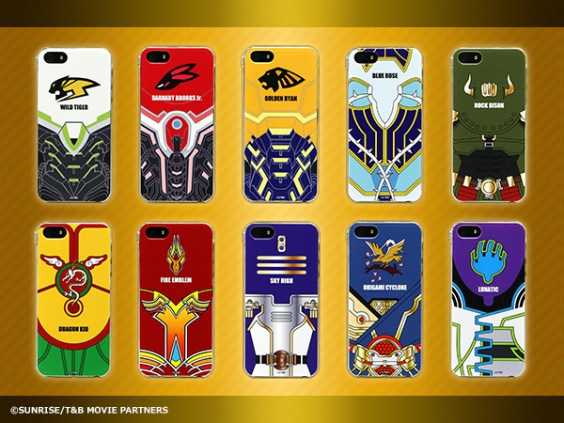 Tiger and Bunny The Rising Smartphone cases