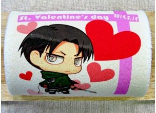 Attack on Titan (Shingeki no Kyojin) Levi Cake for the Valentine's Day