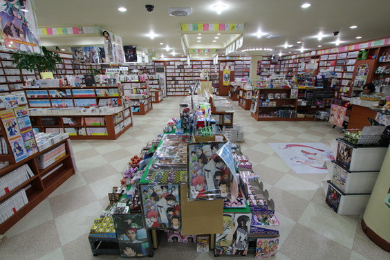 Report From Lee In Busan Busans Otaku Spot Book Culture Comic