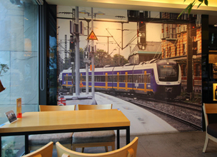 "[Report from Lee in Busan] ""Kisha"" - A Railway Diorama Restaurant"