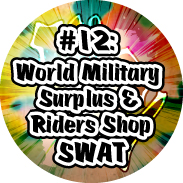 Fukuoka Otaku Map #12 World Military Surplus & Riders Shop SWAT