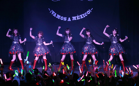 ℃-ute Live Performance in Mexico