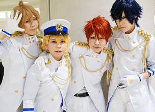 [Cosplay Snaps] Rakushow & MINCOS in TNC TV Bldg. Blue Light Christmas 2015