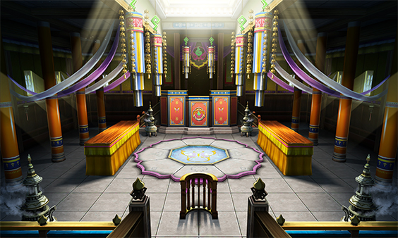 A Khura'inese courtroom