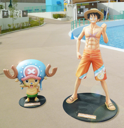 Luffy・Chopper