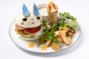 Yo-kai Watch PuniPuni Burger - Komasan, Komajirou -