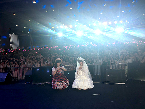 Chinese lolita fashion show