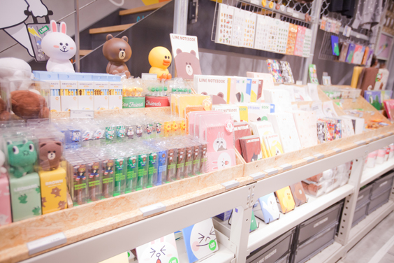 LINE FRIENDS CAFE & STORE Fukuoka