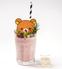 นมปั่นผลไม้ Fruit Tappuri ♪Rilakkuma no Ichigo Milk Smoothie