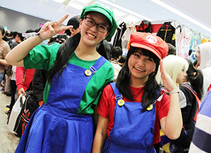 Anime Festival Asia Indonesia 2016 Event Report - Cosplayers