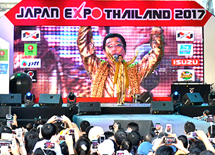 "[Report from Kobori in Bangkok] The ""JAPAN EXPO THAILAND 2017,"" featuring appearances from the likes of PIKOTARO!"