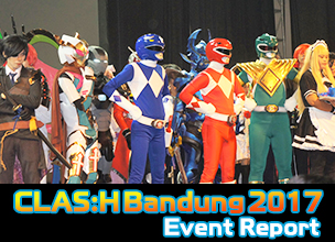 CLAS:H Bandung 2017 Event Report