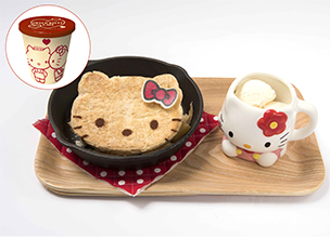 "A love-themed ""Hello Kitty Cafe"" has opened in PARCO Fukuoka for a limited time!"