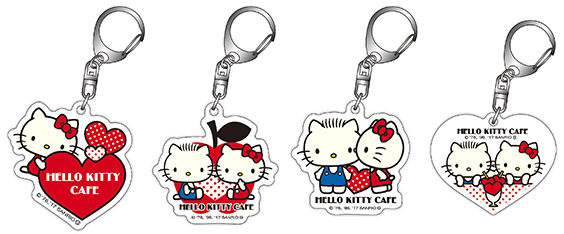 Gacha-gacha (capsule machine) acrylic key holder