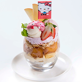 Shunsuke's Kitty parfait