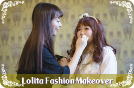 Lolita Tea Party in Fukuoka 2016 lolita fashion makeover