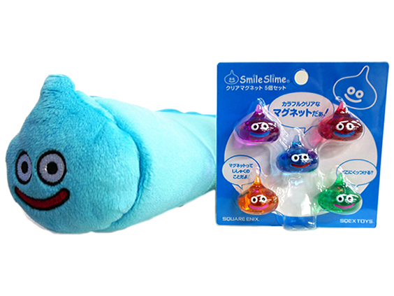 Plush doll pen case & clear magnet set