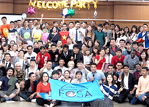 「FOSA Welcome Party 2018」가 개최됬습니다!