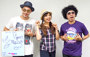 Interview Now ~ Kimochiii in JAPAN (DJ.ダニー & レイコ & プラクン) ~