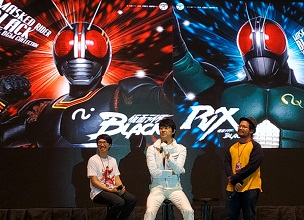 Battle Of The Toys 2018, kembali hadirkan Tetsuo Kurata sang Kamen Rider Black