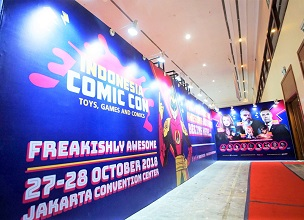 """Indonesia Comic Con 2018"" Event Report"