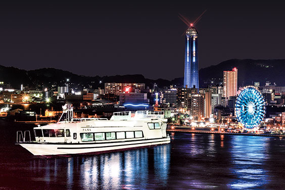 THE KANMON Straits Night View Tour