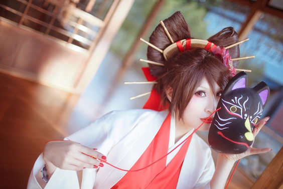 MEIKO vocaloid 紅月司 cosplay coser コスプレ 千本桜